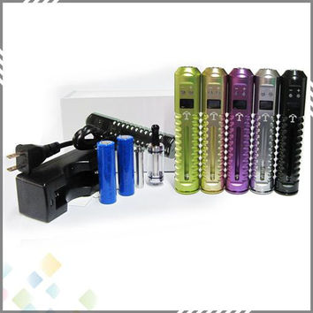 Vaporizer The Best Variable Voltage Ecig Lavatube Tesla Kit