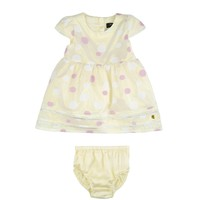 Baby 2 Piece Jacquard Dot Dress Set by Juicy Couture