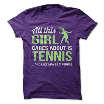 All This Girl Cares About Is Tennis