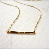 custom tiny name necklace - gold name necklace, personalized necklace, initial, nickname necklace, everyday