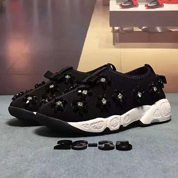 ADIDAS Girls Boys Children Baby Toddler Kids Child Fashion Sequins Crystal Sneakers Sport Shoes