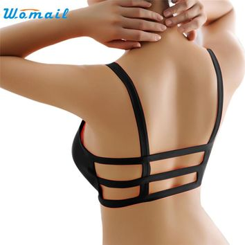Ladies Breathable Back Strap Yoga Fitness Sports Bra