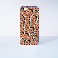 Funny Kim Kardashian Crying  Plastic Case Cover for Apple iPhone 5s 5 6 Plus 6 4 4s  5c