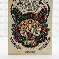 The Tattoo Colouring Book - Urban Outfitters
