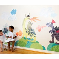 Dinosaurs to Dragons Wall Decals