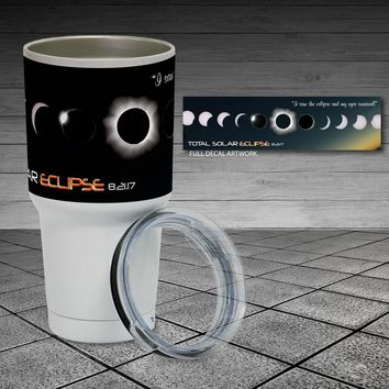Eclipse 2017 - 30oz Insulated Tumbler Cup - Survived