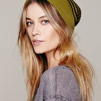 Free People Striped Reversible Skull