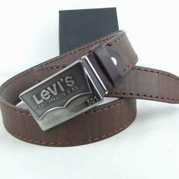 Perfect Levis Fashion Smooth Buckle Belt Leather Belt