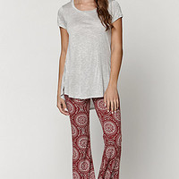 LA Hearts Knit Boho Flare Pants at PacSun.com