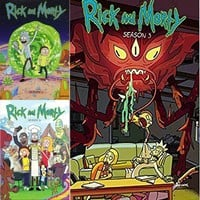 Rick and Morty DVD Seasons 1-3 Set
