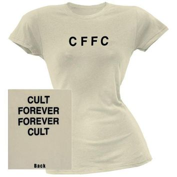 PEAPGQ9 The Cult - CFFC Juniors T-Shirt