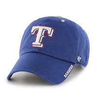MLB Texas Rangers Ice Clean Up Adjustable Hat, One Size, Royal