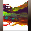 Abstract Art Painting on Canvas - 18x24 Contemporary Original Paintings by Destiny Womack - dWo - Leaps & Bounds