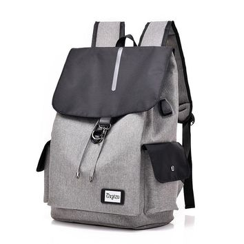 New Smart Usb Backpack Casual Bag For Male Students To Pack A Computer Bag