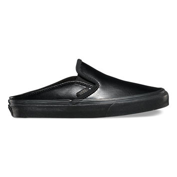 Leather Slip-On Mule   Shop Womens Shoes at Vans