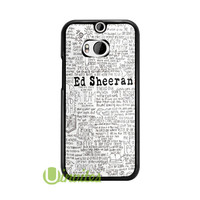 Ed Sheeran Song Quo  Phone Cases for iPhone 4/4s, 5/5s, 5c, 6, 6 plus, Samsung Galaxy S3, S4, S5, S6, iPod 4, 5, HTC One M7, HTC One M8, HTC One X