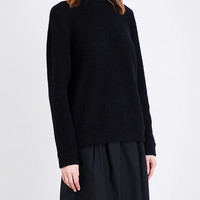 CRAIG GREEN High-neck bouclé sweater