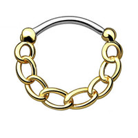 Chain IP Round Septum Clicker