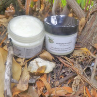 Shea Butter Coconut Oil Honey Hair Moisturizing Cream – Small Batch Handmade – Whipped Hair Cream   – Shea Butter Hair Cream