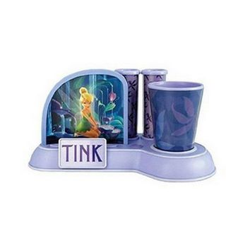 KNG 000247 Tinkerbell Toothbrush Holder with Cup