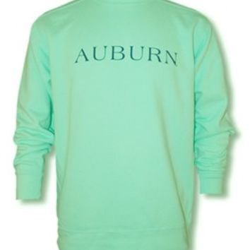 Comfort Color Sweatshirt - Island Reef Horizontal Americana by Tiger Rags