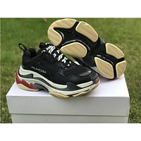 Balenciaga Triple S DSM Sport Running Jogging Shoes Casual Clunky Sneakers
