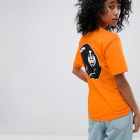 Obey Relaxed T-Shirt With 8 Ball Icon Back Graphic at asos.com