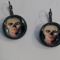 Tate inspired Am Horror Story glass pendant earrings