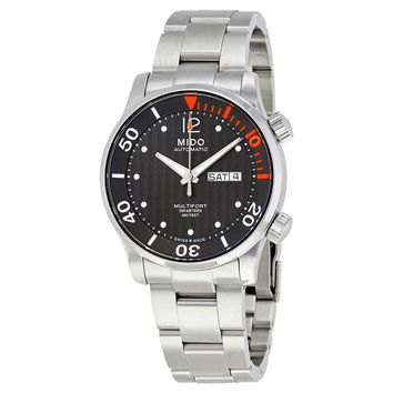 Mido Multifort Automatic Anthracite Dial Mens Watch M005.930.11.060.80