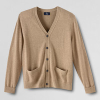 Men's Classic Cashmere Cardigan Sweater from Lands' End
