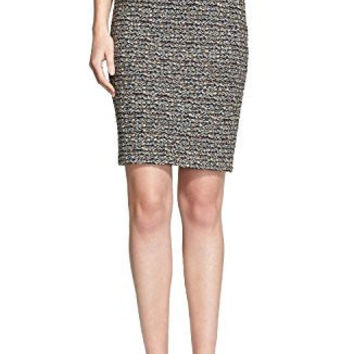St. John Collection Heathered Tweed Knit Pencil Skirt Size 10