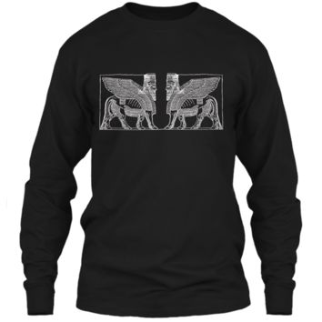 Anunnaki Ancient Alien Guardian  LS Ultra Cotton Tshirt