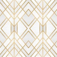 Golden Geo Removable Wallpaper