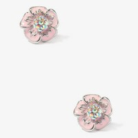 Tropical Flower Dome Studs | FOREVER 21 - 1030188099