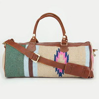 Ethnic Pattern Leather Trim Duffle Bag 211497957 | Luggage | Tillys.com