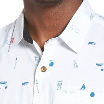 O'Neill Grilled Print Woven Shirt | Nordstrom