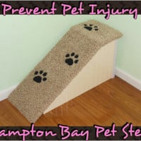 "Dog Ramps, 18"" High Designer Dog Ramps! Pet Steps, Dog Steps, Doxie Ramps, Cat Steps, Dog Beds, Wooden Dog Ramps, Pet Ramps"