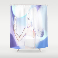 Selfie Shower Curtain by Candy.