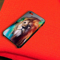 Lion Multicolor iPhone 4 iPhone 4S Case