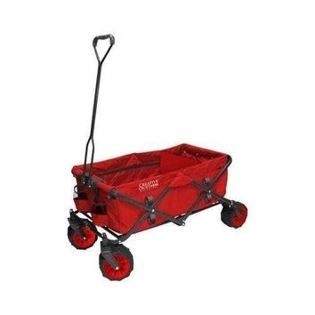 Gardening Camping Folding Wagon Cart Beach Trips Travelling All-Terrain Wagon