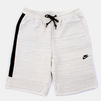 Nike Super 1mm Tech Shorts - Oatmeal Heather at Urban Industry