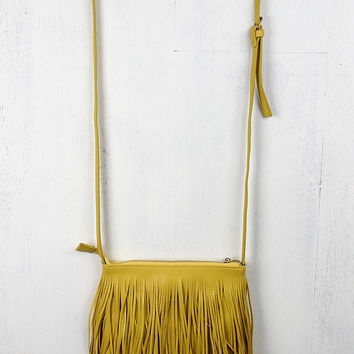Tiered Fringe Crossbody Bag