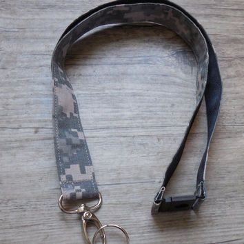 Army ACU, Safety Breakaway Design Lanyard, Military, Armed Forces