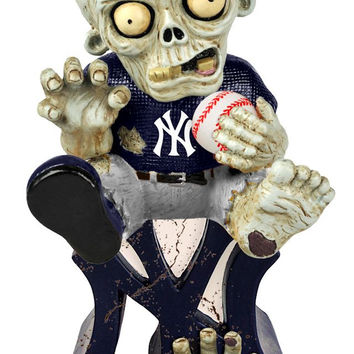 New York Yankees Zombie Figurine - On Logo