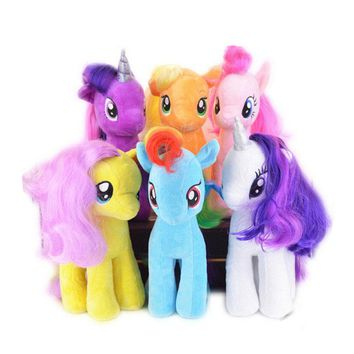 Ty Beanie Boos 19cm High Quality lovely Little Horse Plush Doll Unicorn Horse Toys for Children Kids Birthday Christmas Gifts