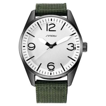 Canvas Sports Casual Men Watch [9262120324]