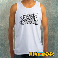 Ozzy Osbourne Logo Clothing Tank Top For Mens