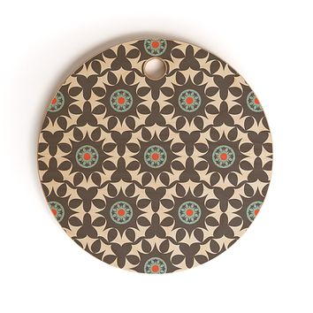 Heather Dutton Amirah Dusk Cutting Board Round