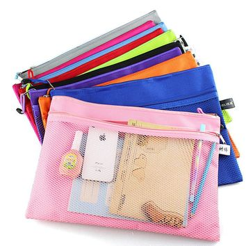 Double Layered Cloth Pencil Case