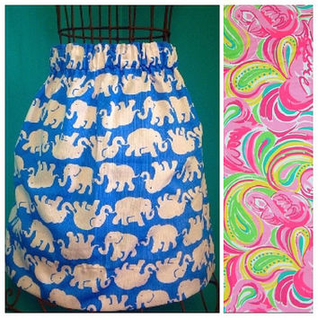 Custom Lilly Pulitzer Multi All Nighter Skirt